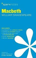 Macbeth SparkNotes Literature Guide (SparkNotes Literature Guide Serie-ExLibrary