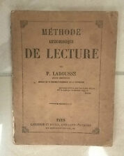 ottocentina méthode lexicologique de lecture larousse