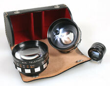 SERIES VI TELEPHOTO WIDE ANGLE CONVERTER KIT W/ VIEW FINDER IN CASE
