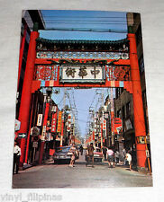 Hongkong Card,CHINATOWN STREET VIEW,The Arc,Club Queen,Color Postcard,1960s-70's