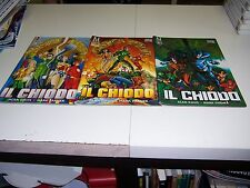 IL CHIODO 1-2-3 SAGA COMPLETA ALAN DAVIS PLAY MAGAZINE 33-34-35 PLAY PRESS RARI!