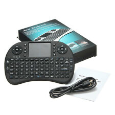 2.4GHz Wireless Handheld Keyboard Remote Control Touchpad For Android TV+battery