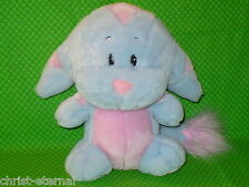 "Neopets BLUE & PINK STRIPED KACHEEK Plush Stuffed Animal 10"" tall 2003"