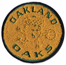 "1967-68 OAKLAND OAKS ABA BASKETBALL HARDWOOD CLASSICS 5.25"" CHENILLE TEAM PATCH"