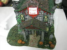 Hawthorne Village Blood Bank & Trust  Munsters Mint In Box