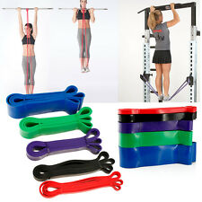 5pcs Pull Up Bands Resistance Loop Power Gym Fitness Exercise Yoga Strength