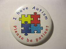 AUTISM BADGES Great Awareness Badges For Your Child 50mm pin badge D1