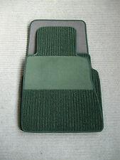 $$$ Rips Fußmatten für Mercedes Benz W124 Cabrio A124 E-Klasse + pinie grün +NEU