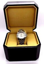 Authentic Ladies Breitling Colt Oceane Chronometre A77350 Date Quartz Watch Box