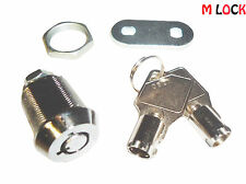 "LOT OF 100  5/8"" Tubular Cam Lock;  90 degree and 2 key pull; all keyed alike"