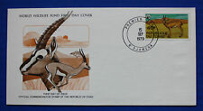 Chad (367) 1979 Protected Animals - Gazelle WWF FDC