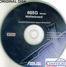 ASUS GENUINE VINTAGE ORIGINAL DISK FOR P5P800-MX  Motherboard Drivers Disk M504