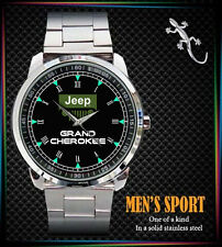 NEW JEEP GRAND CHEROKEE MENS SPORT METAL WATCH