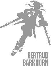 Strike Witches Gertrud Barkhorn character decal