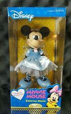 """Disney Brass Key Keepsakes 2004 Ballerina Minnie Mouse Porcelain Doll 8"""""""