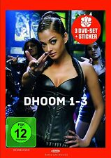 Dhoom 1-3 (3 DVDs)(Bollywood) mit Aishwarya Rai, Aamir Khan