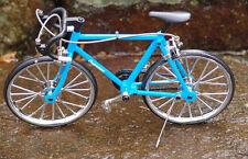 Miniature Die cast Blue Racing Bicycle 1/10 Scale