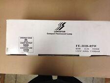 6 LONGSTAR 00036 FE-IIIB-85W E26 8000 HRS DAYLIGHT FULL SPECTRUM CFL MEDIUM BASE