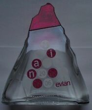 bouteille evian 2006 bottle n°2 sérigraphiée NEUF NEW EXTREMEMENT RARE +++++