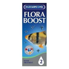 100ml INTERPET FISH TANK AQUARIUM TREATMENT FLORA BOOST PLANT FOOD WITHOUT ALGAE