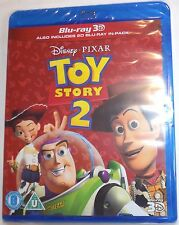 TOY STORY 2 Brand New 3D BLU-RAY and 2D Region-Free Pixar Import Ships from USA