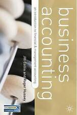 Business Accounting: Second Edition DISTRIBUTION CANCELLED-ExLibrary