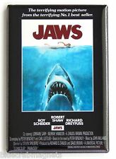 Jaws FRIDGE MAGNET (2 x 3 inches) movie poster spielberg great white shark