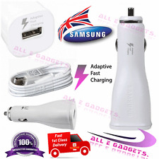 New SAMSUNG 15W Fast Car Charger+Cable for Galaxy S7 S6 Edge NOTE 4 5