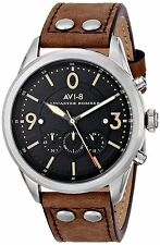 AVI-8 Men's AV-4024-01 Lancaster Bomber Stainless Steel Watch