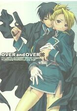 Fullmetal Alchemist Doujinshi ;; OVER and OVER ;; Roy Mustang Riza Hawkeye