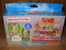 #4721 NRFB Flair Sylvanian Families Village Gift Shop with 2 Figures