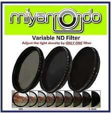 55mm Adjustable ND Filter ND2-400