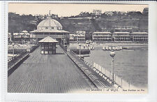 VICTORIA SERIES POSTCARD NEW PAVILION ON PIER, SHANKLIN, ISLE OF WIGHT
