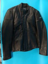 Hein Gericke Black Leather Riding Jacket