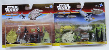 Micro Machines Star Wars-The Force despierta-Serie Oro - 2 packs nuevos