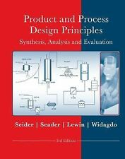 Product And Process Design Principles 3Rd Ed Isv International Edition