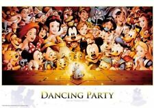 Disney Jigsaw Puzzle 1000 piece Mickey Dancing Party NEW F/S