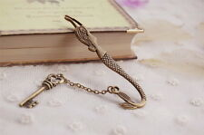 Mermaid Bookmark Charm Pendant Stationery Key Book Holder Gift