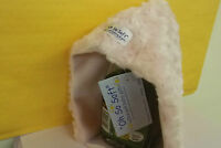 """DESIGNER BABY GIRL BONNET 3 6 9 12 MONTHS VERY WARM """"OH SO SOFT"""" PINK OR GREEN"""