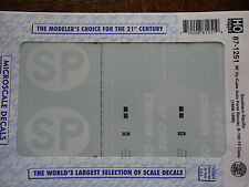 Microscale Decal HO  #87-1251  Southern Pacific 86' Hi-Cube Auto Parts Cars