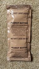 Meal Ready to Eat (MRE) 8pcs Peanut Butter Spread Dessert Cadet Ration IMP