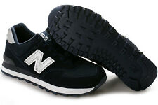 Boys New Balance Navy Blue/Silver Lightweight Lace Sneakers Boys Size 13 Wide