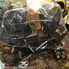 PVC RAINCOVER RAIN GRACO STADIUM DUO TANDEM TWIN PUSHCHAIR £16.99 FREE POSTAGE