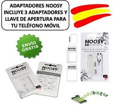 NOOSY ADAPTOR 4 IN 1 NANO MICRO SIM MICROSIM IPHONE 5 4 4S 6 C MOBILE