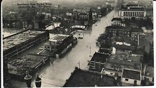 1930's Broadway from Brown Hotel, Flood of 1937 in Louisville, KY Kentucky PC