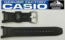 CASIO PRO TREK  PATHFINDER PAG-40 18mm Original Black Rubber Watch BAND Strap