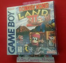 Donkey Kong Land III  (Nintendo Game Boy, 1997), Actual pict, Sealed, Authentic