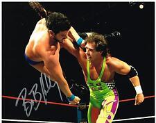 WWE WWF HARDCORE BOB SPARK PLUG HOLLY AUTOGRAPHED 8X10 PHOTO AUTOGRAPH AUTO