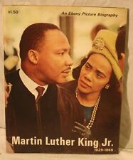 Ebony picture biography Martin Luther King Jr, excellent, 1968