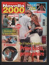 NOVELLA 2000 27/1999 CASIRAGHI VALERIA MARINI HEATHER PARISI PALOMBELLI NADA